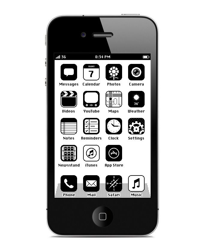 40 Quality Examples of iOS User Interface Designs | Anton, Iphone ...
