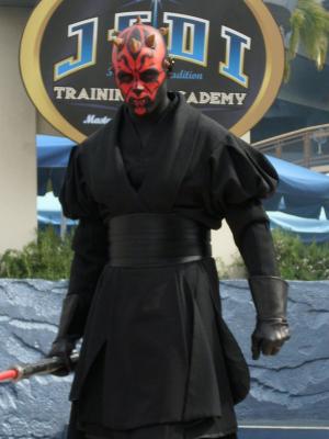 Mask Set Mens Fancy Dress Star Wars Adult Halloween Costume Darth Maul Shirt