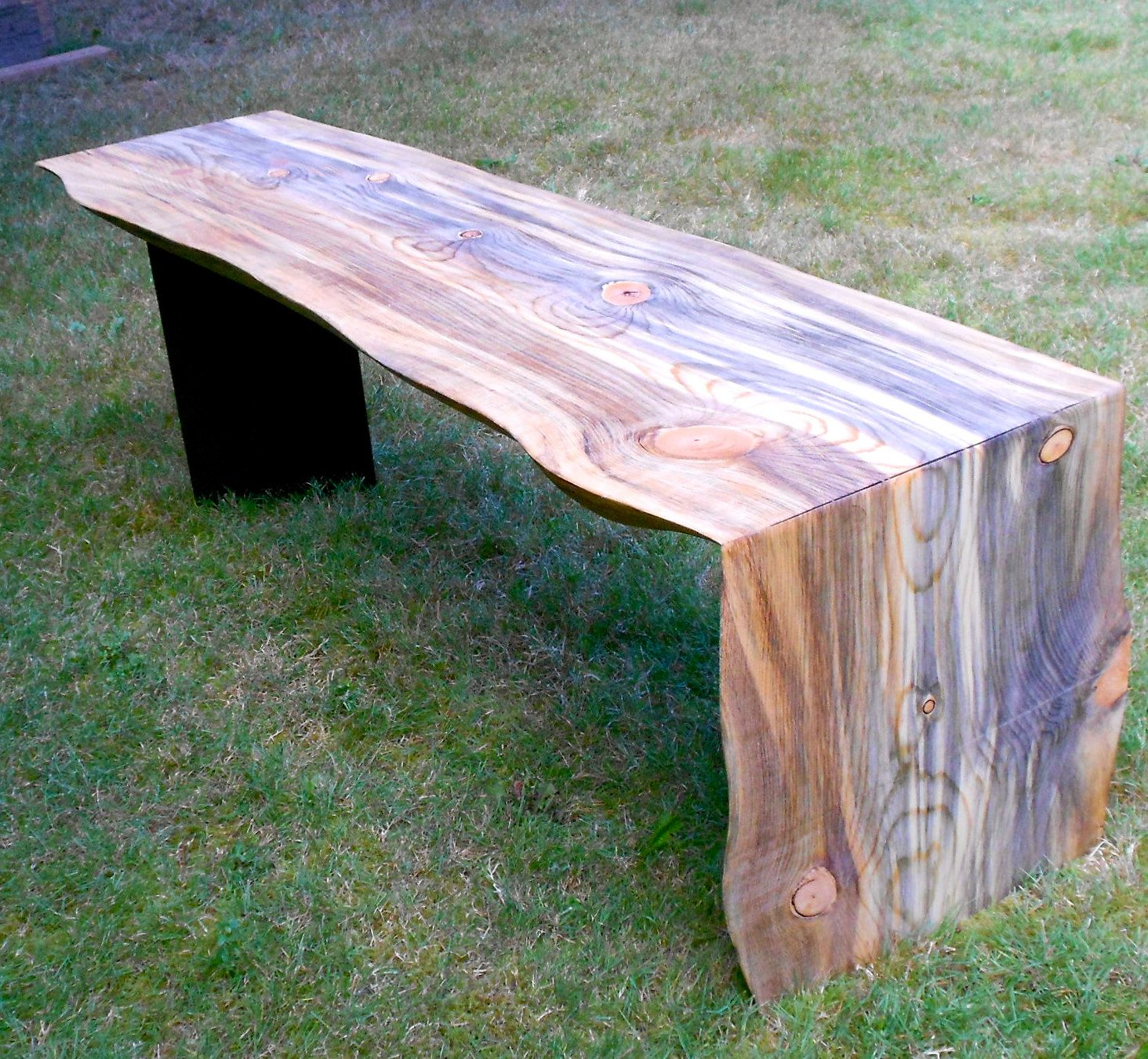 Waterfall Bench 741 00 Via Etsy Made From Montana Ponderosa  # Muebles Ponderosa