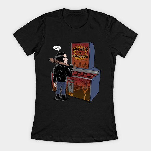 Whack A Survivor Womens T-Shirt