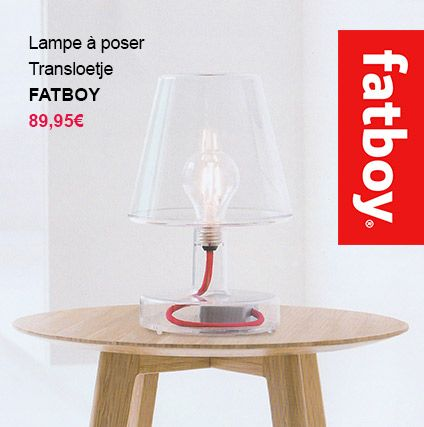 lampe transloetje fatboy light design transparente fatboyoriginal. Black Bedroom Furniture Sets. Home Design Ideas