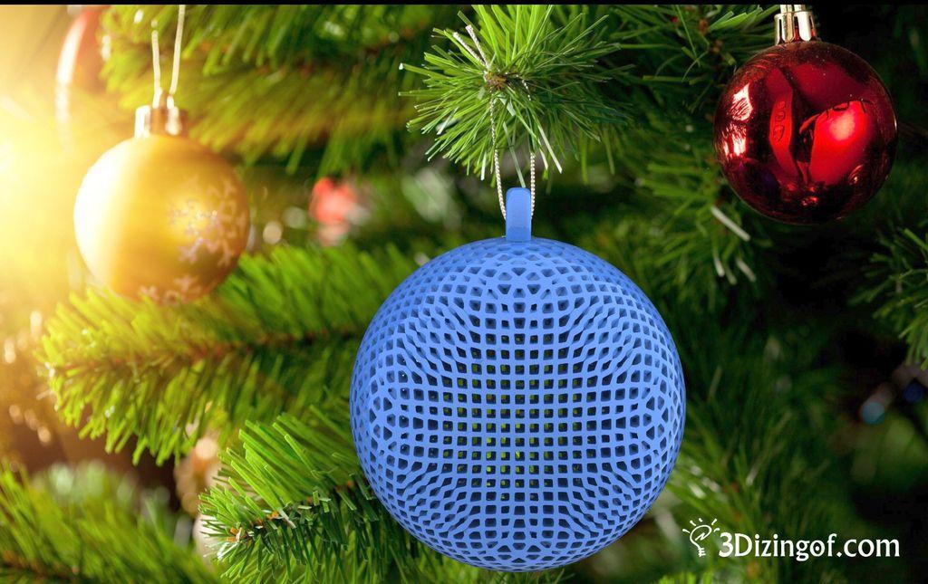 Math Christmas Ornament by @Dizingof by Dizingof botModels