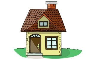 How To Draw A House Step By Step For Kids.This Is Your Chance To