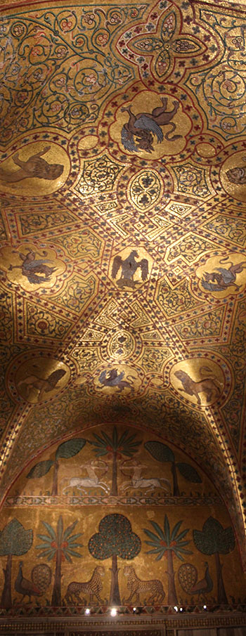 Byzantine Mosaics Of Angels From Sicily Byzantine Mosaic Byzantine Art Byzantine