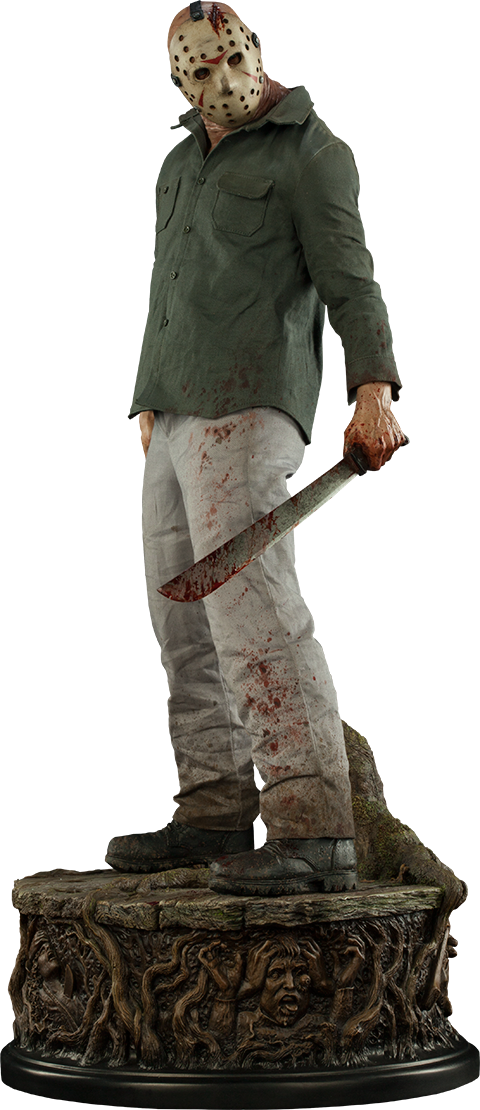 Jason Voorhees Legend Of Crystal Lake Premium Format Figure Jason Voorhees Friday The 13th Horror Action Figures