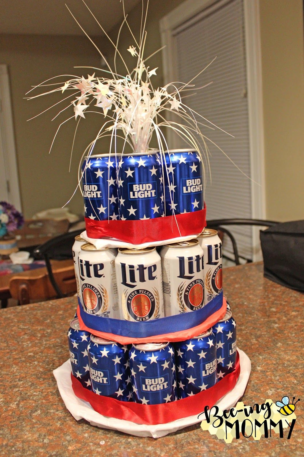 Astonishing Beer Can Cake Tutorial With Images Beer Can Cakes Cake In A Funny Birthday Cards Online Alyptdamsfinfo