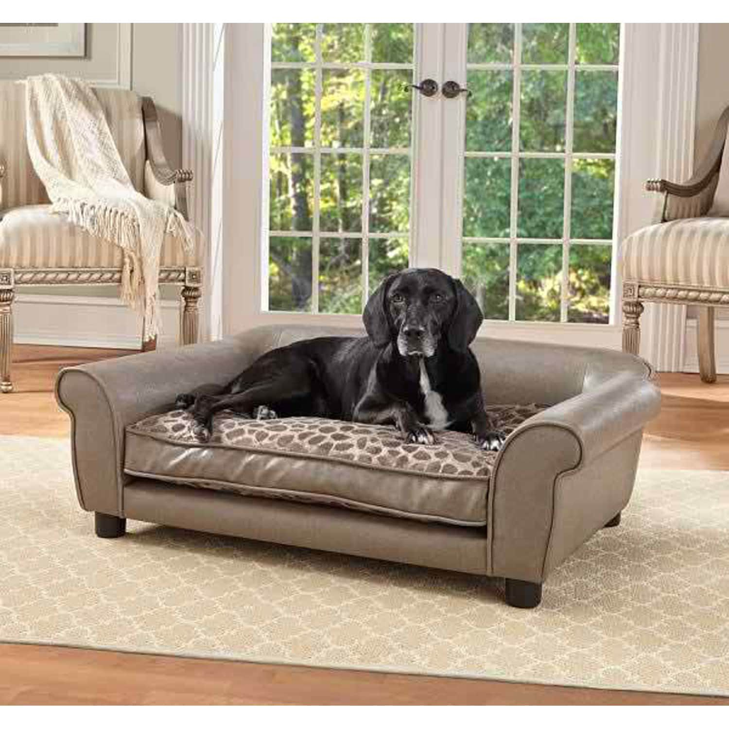 Rockwell Sofa Pet Bed Dog Sofa Bed Dog Cots Wood Dog