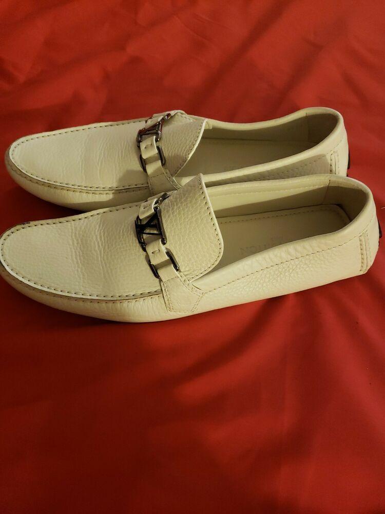 Louis Vuittons Shoes Mens. Size12 White