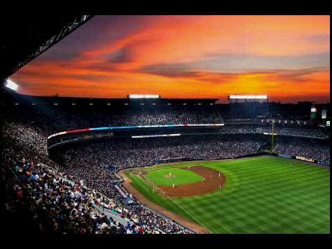 Sunset at Turner Field
