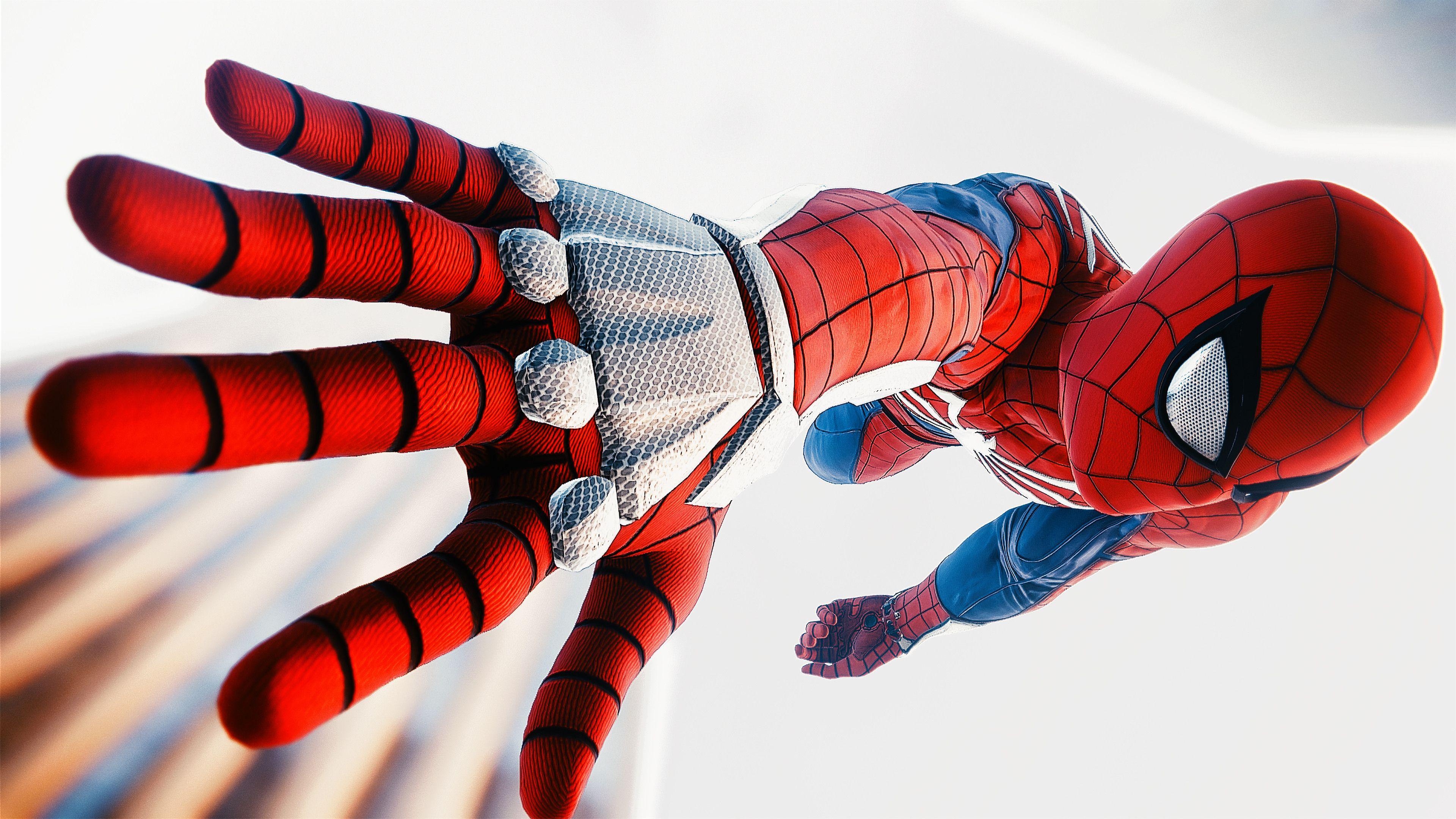 Spiderman Ps4 Advanced Suit 4k Superheroes Wallpapers Spiderman Wallpapers Spiderman Ps4 Wallpapers Ps Spiderman Spiderman Ps4 Wallpaper Spiderman Pictures