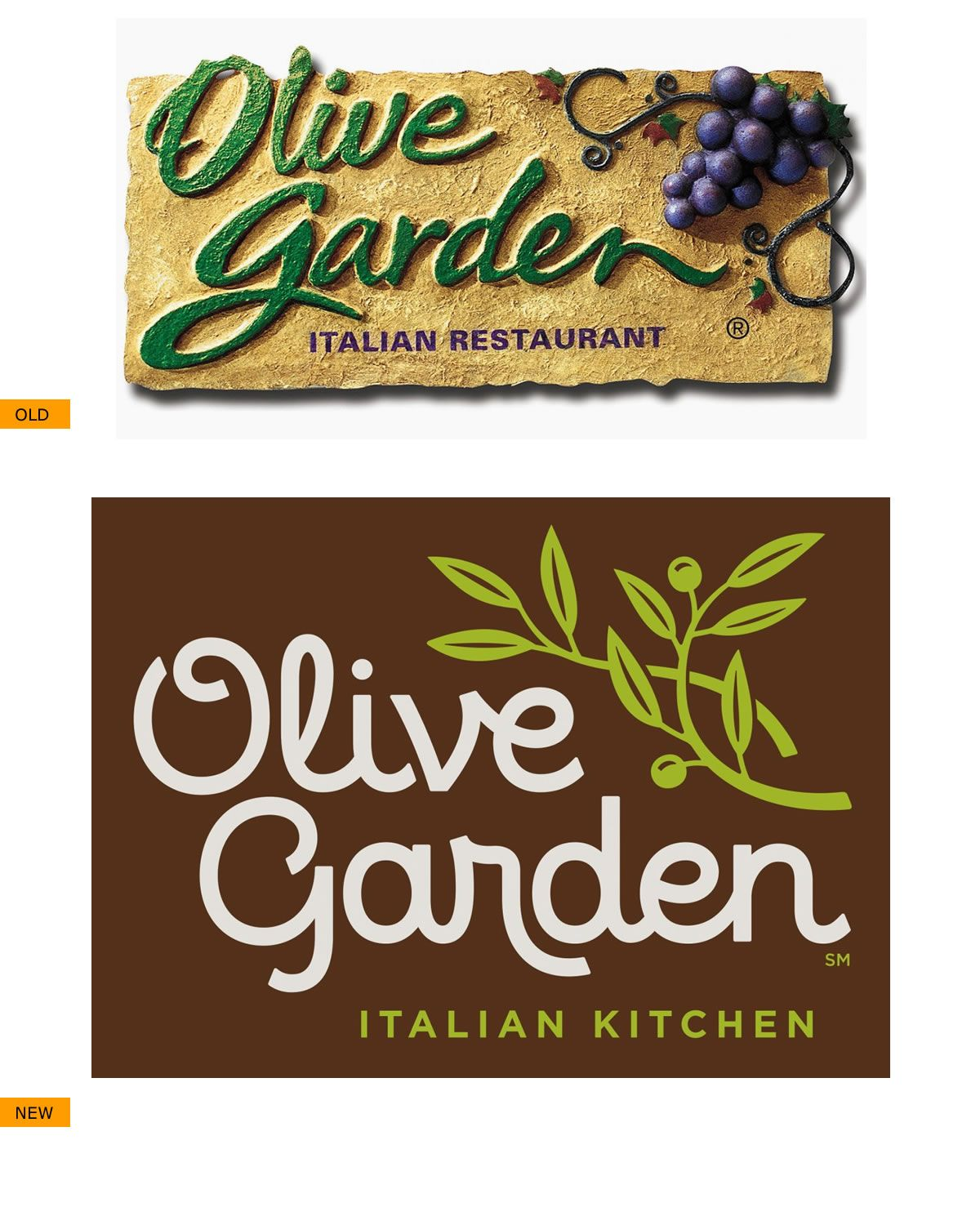 New Olive Garden logo 2014 | Design : Logo Evolution | Pinterest ...