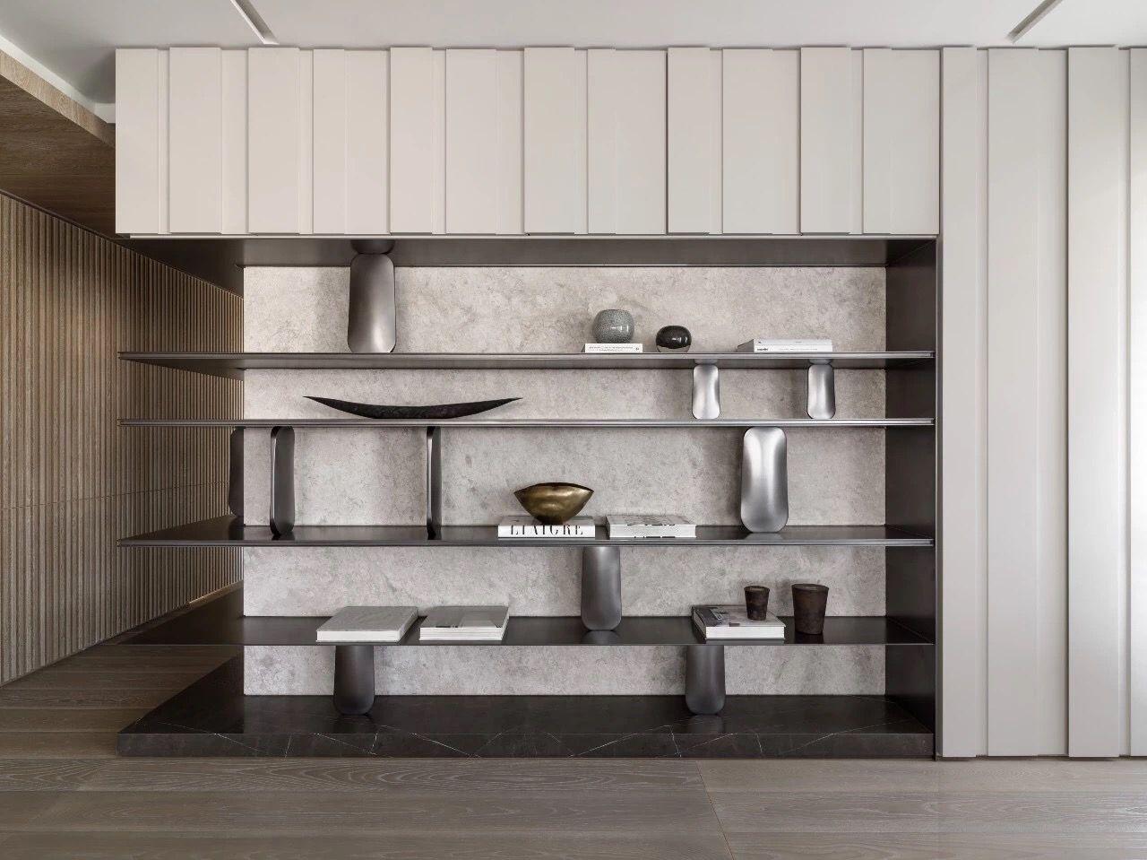 #shelves #design #in #living #room