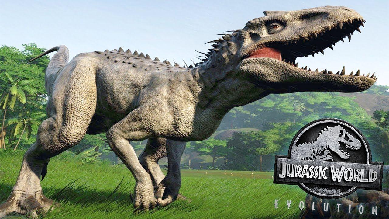 INDOMINUS REX ALL SKINS Jurassic World Evolution