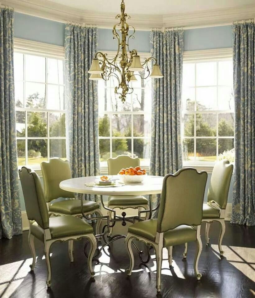 Pin By Patricia Garcia On Style Dining Room Windows French Country Dining Room Room Makeover Inspiration