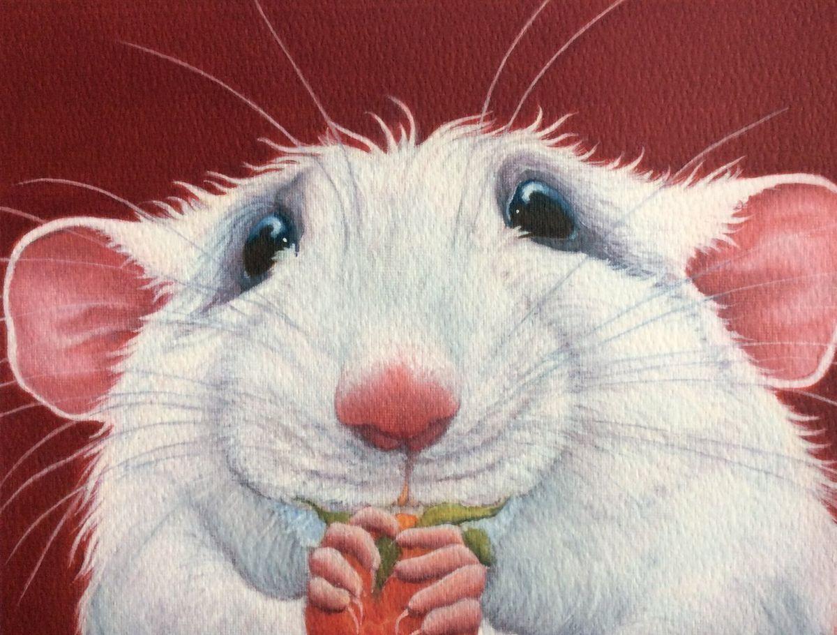 несмотря прикольные картинки года белой крысы человек воодушевлением занимается