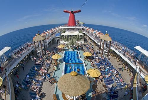 Carnival Ecstasy Begins Three And Four Day Cruises From