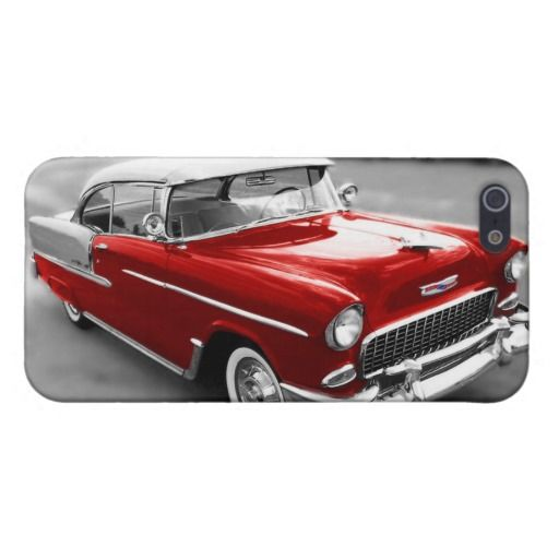 Red 1955 Chevy BelAir Chevrolet iPhone 5/5s Case | Zazzle.com