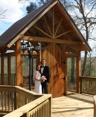 Great Smoky Mountain Wedding Chapel Nolichuckey Bluffs Bed And