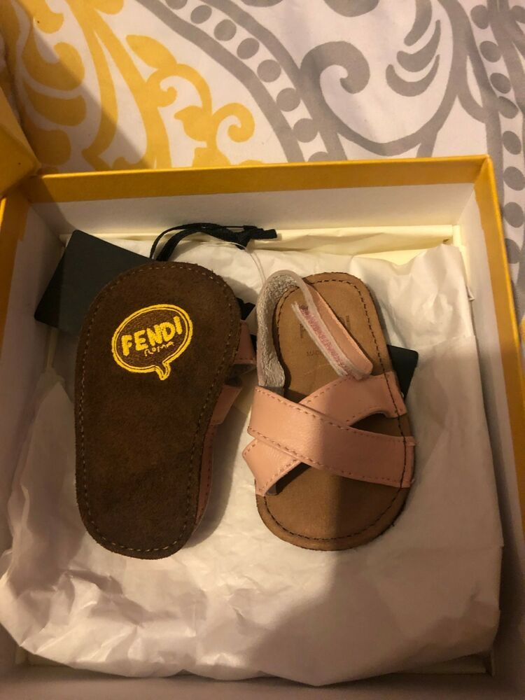 Baby Fendi Sandals 3 6months Fashion Clothing Shoes Accessories Babytoddlerclothing Babyshoes Ebay Link Navy Blue Sandals Baby Shoes Sandals