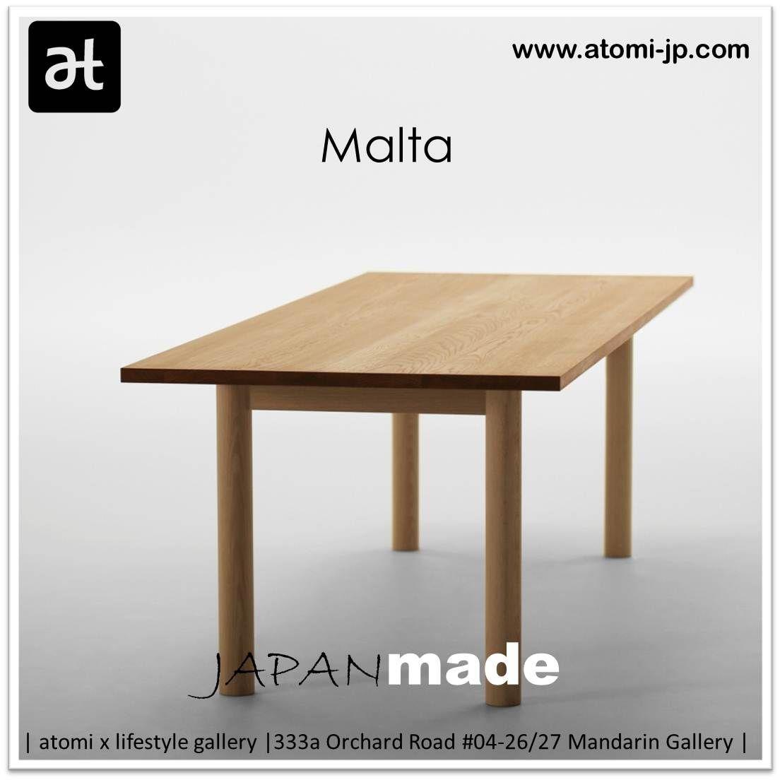 Malta Table By Naoto Fukasawa Atomi X Furniture Gallery