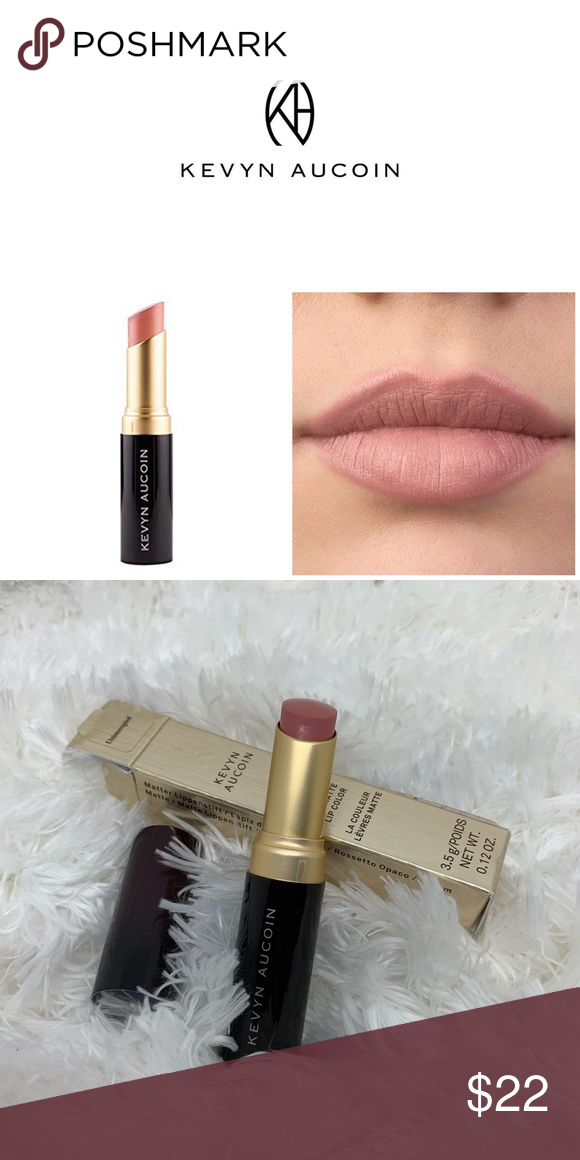 Kevyn Aucoin Matte Lip Color New in box. Color is