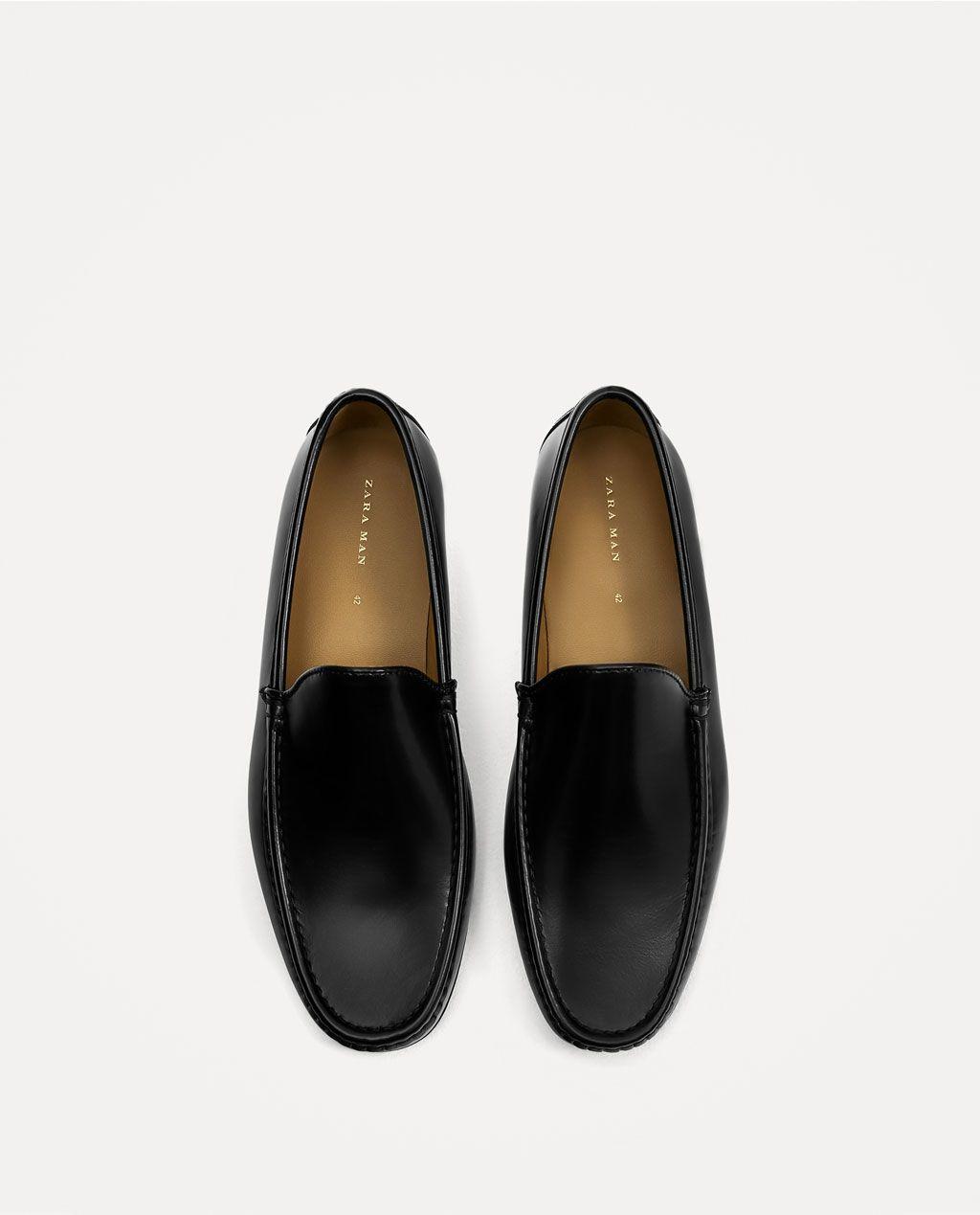 Todo Piel Zapatos HombreZara Ver Venezuela Antic Liso Mocasín SUVpqzM