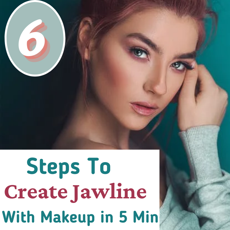 """You may have heard hundreds of solutions for getting a jawline. Some say do facial yoga some say go for the surgery. The best way to get a temporary jawline is by doing makeup. Then how to get a jawline with makeup, the answer is """"Contouring your face""""."""