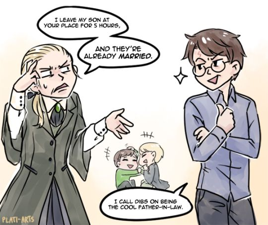 If I can't have drarry at least I can have these 2 gay fucks