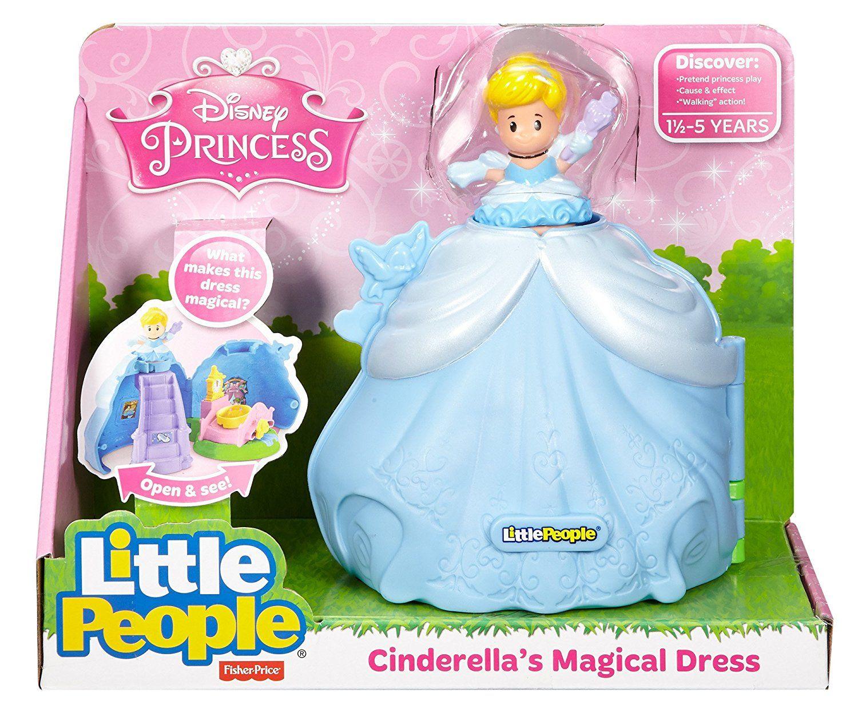 New Fisher Price Little People Disney PRINCESS CINDERELLA CASTLE Kingdom Pumpkin