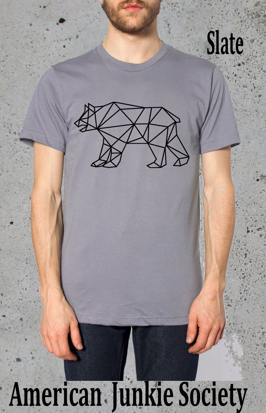 Mens geometric grizzly bear tshirthusband giftmens graphic tee geometric bear shirt grizzlies tshirtamerican apparelmens graphic tee guys t shirtboyfriend gift ideasmens shirts hipster shirt by americanjunkiesoc on publicscrutiny Gallery
