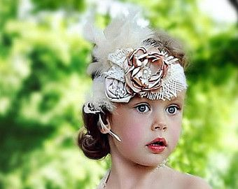 flower girl headband 7cbb9829f0d