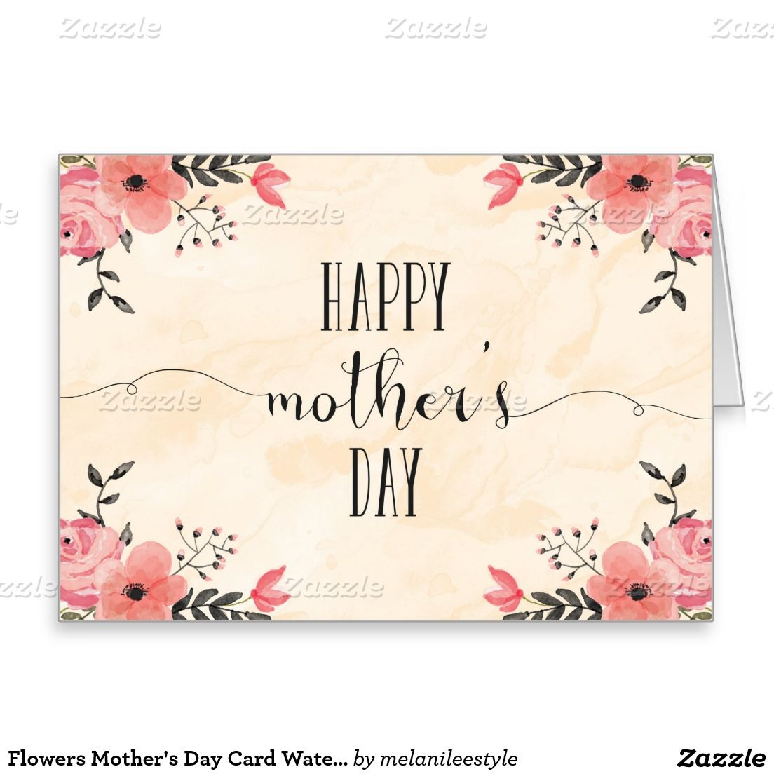 Create Your Own Card Zazzle Com Happy Mother S Day Card Mother S Day Gift Card Mother S Day Greeting Cards