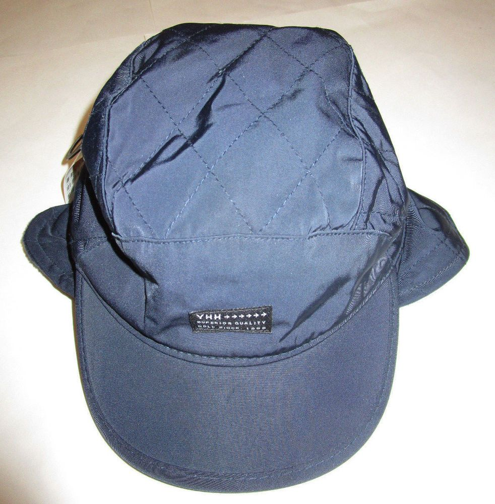 11ea72ec19833 Nwt Mens H   M YHH Navy Fleece Lined Quilted Ear Flap Hat Cap Medium   fashion  clothing  shoes  accessories  mensaccessories  hats (ebay link)