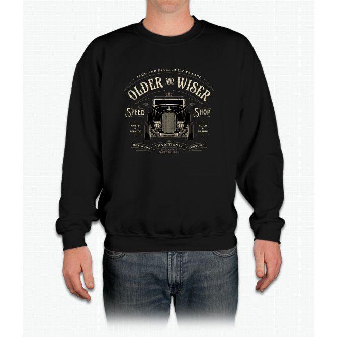 Older Wiser Crewneck Sweatshirt