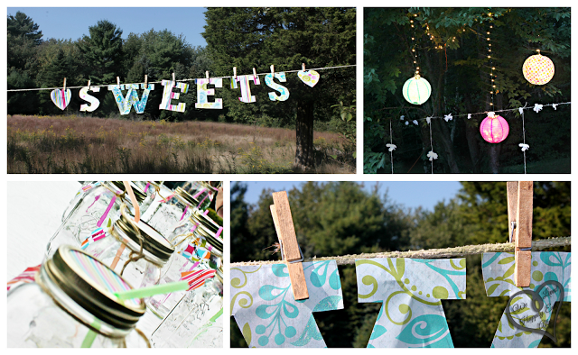 We Lived Happily Ever After: Whimsical Party Banner!