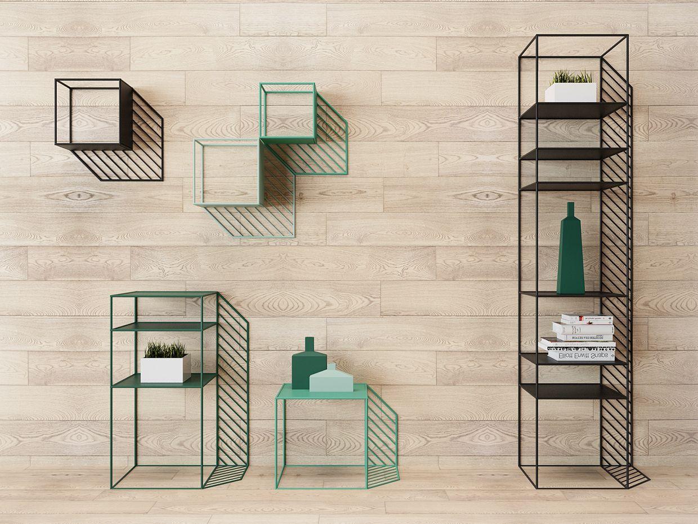 "wonderful futuristic metal furniture design | ""Sunny"" metal furniture collection. Each element imitates ..."