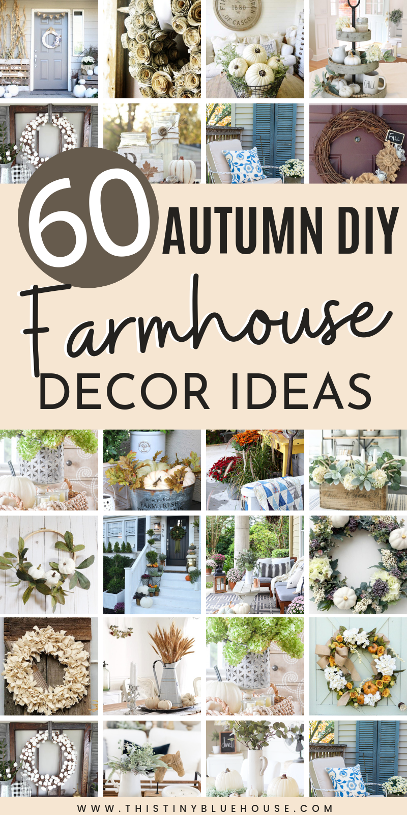 Photo of 60 Best Stunning DIY Farmhouse Fall Decor Ideas