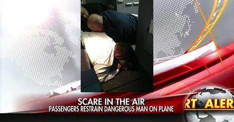 osCurve News: Flight Makes Emergency Landing After Passenger Rus...