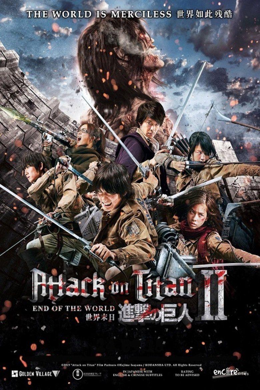 Shingeki No Kyojin Live Action 2 Cine Pinterest Attack On