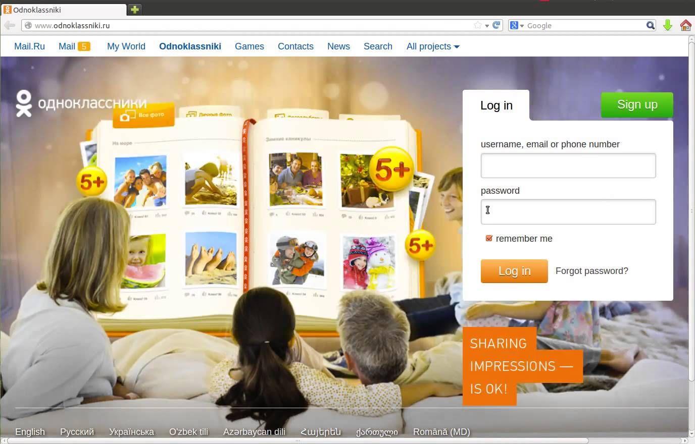 Caress congratulate Sign Odnoklassniki In Ru ideal