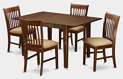 5 Pc Wooden Dining Set Solid Wood Dining Set Small Dining Table Dining Table In Kitchen