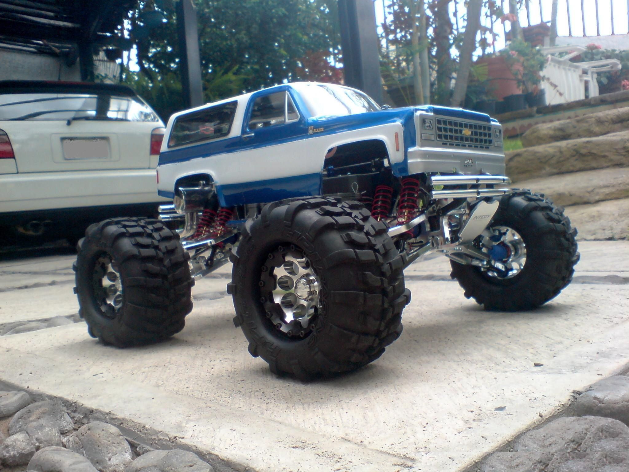 chevy truck Gas powered rc cars, Radio control cars