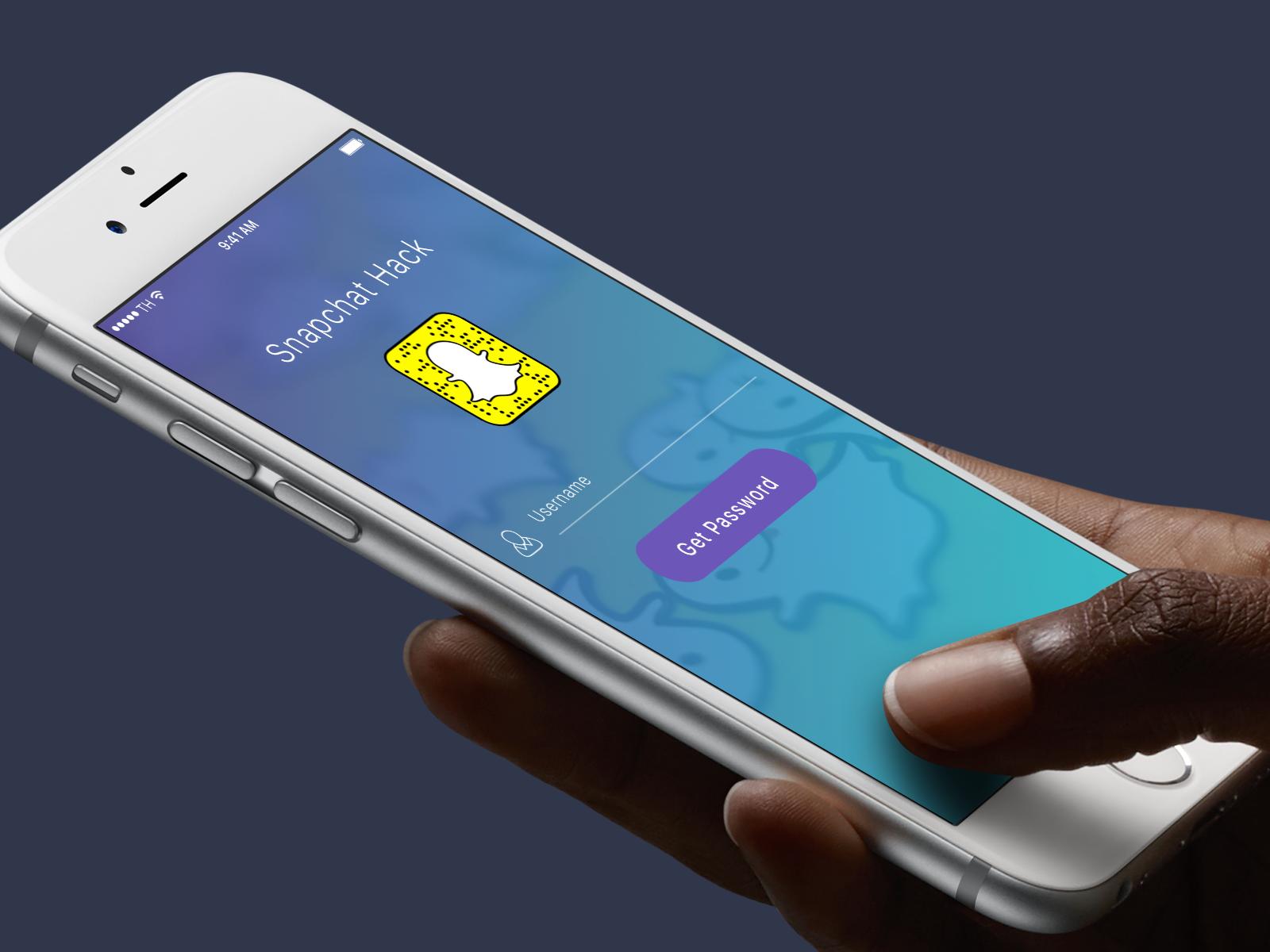 Get into any Snapchat account   Anyone?