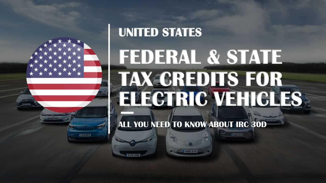 How Does Us Federal Tax Credit For Electric Vehicles Work With