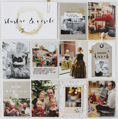 Christmas cards by Lucie Sindelkova - Papero amo PL challenge