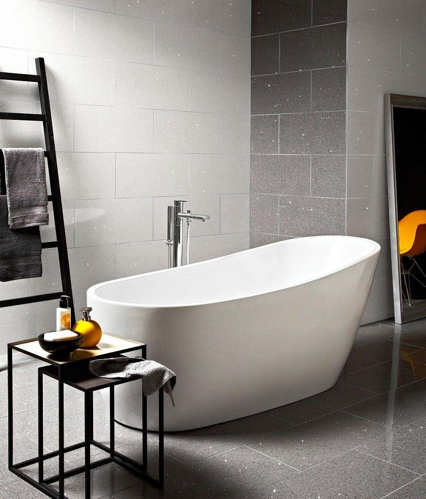 Starluxe? White 30x60 Tile | Bathroom | Pinterest | Room