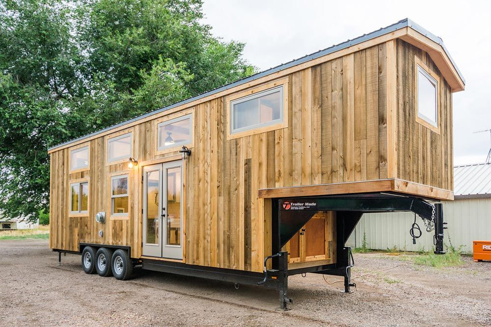 Heather S 37 Gooseneck Tiny House By Mitchcraft Tiny Homes Tiny