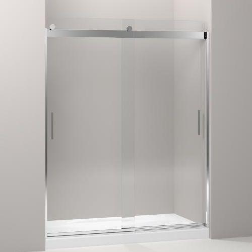 K706009 L Sh Levity Shower Door Sliding Shower Door Bright