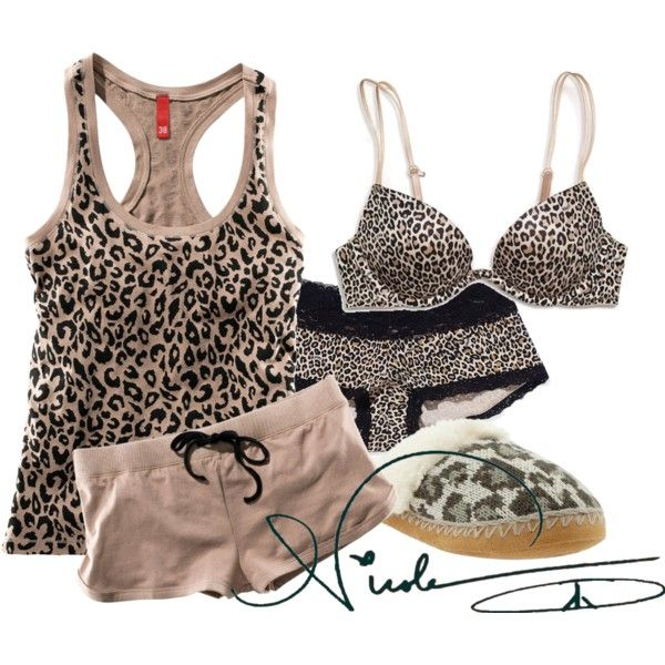 Nicole :)♥ by liveforamoment on Polyvore featuring moda, H&M, Victoria's Secret and Old Navy
