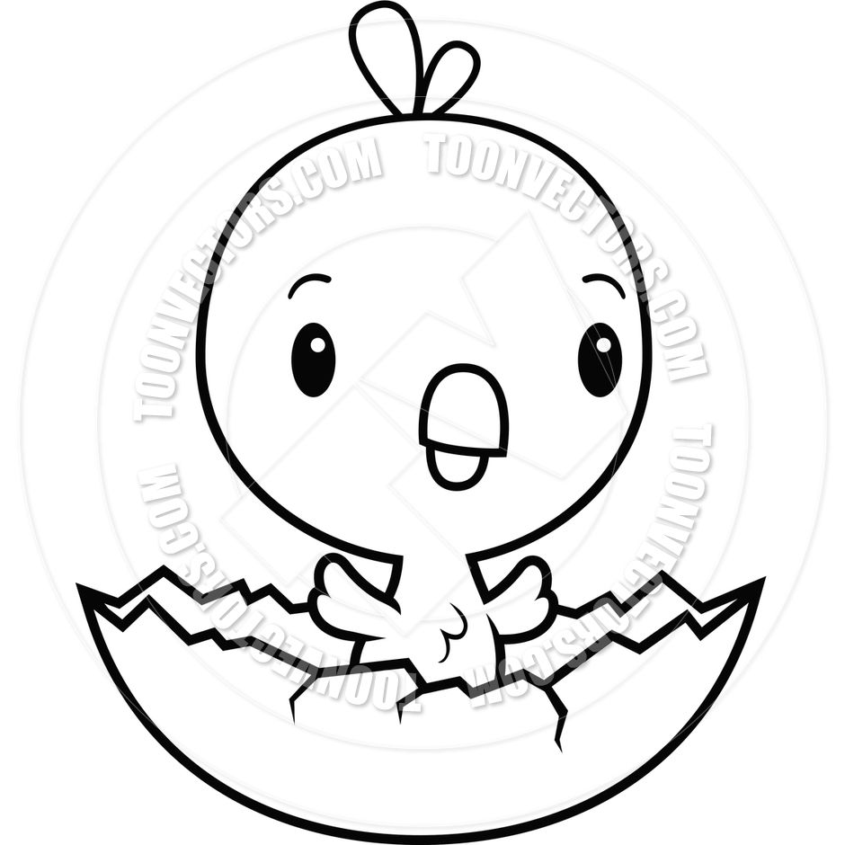 Awesome Drawing Baby Chicken Coloring To Print Best Pages